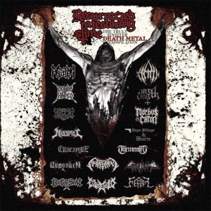 RESSURECTED IN FESTERING SLIME - The Truly Sinister Death Metal Compilation - CD