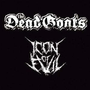 THE DEAD GOATS / ICON OF EVIL - split - CD