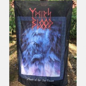 YMIR'S BLOOD - Blood of the Ice Giant - POSTER-FLAG
